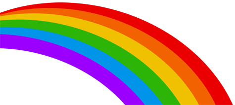 Rainbow Background for Skoolbo - a fun learning program for children!